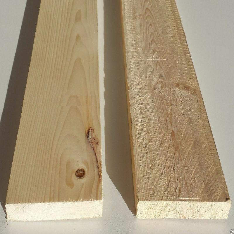 Tavola Abete Carpenteria Semipiallato Pacchetto Da 10 Pz